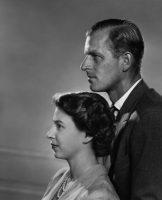 La reina Isabel II y el príncipe Felipe en 1951. Credit Yousuf Kars