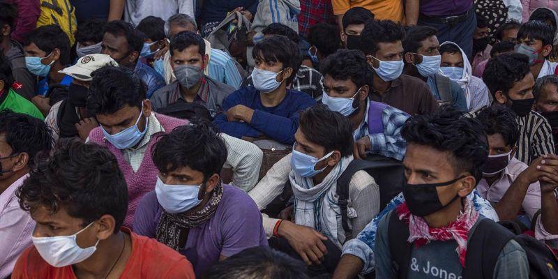 El tsunami de la COVID en la India
