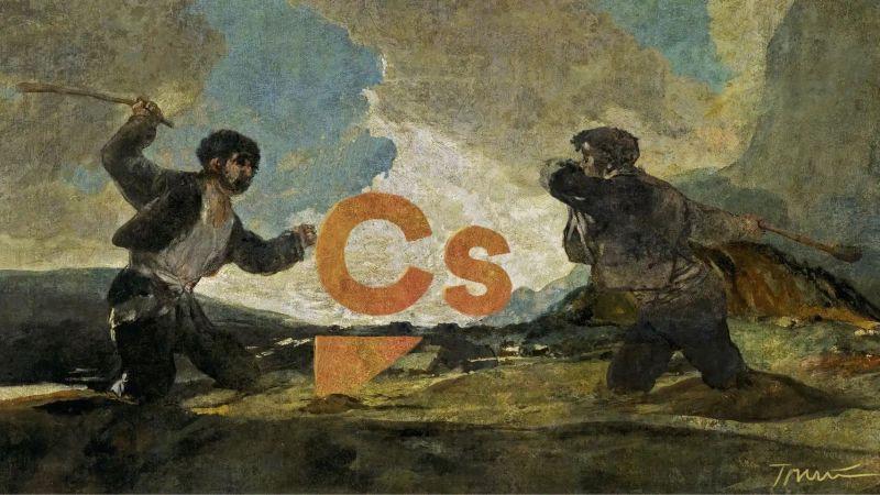 Las dos Españas, a garrotazos con el centro. Tomás Serrano
