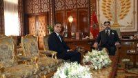 Pedro Sánchez y el rey de Marruecos Mohamed VI se reúnen en 2018.