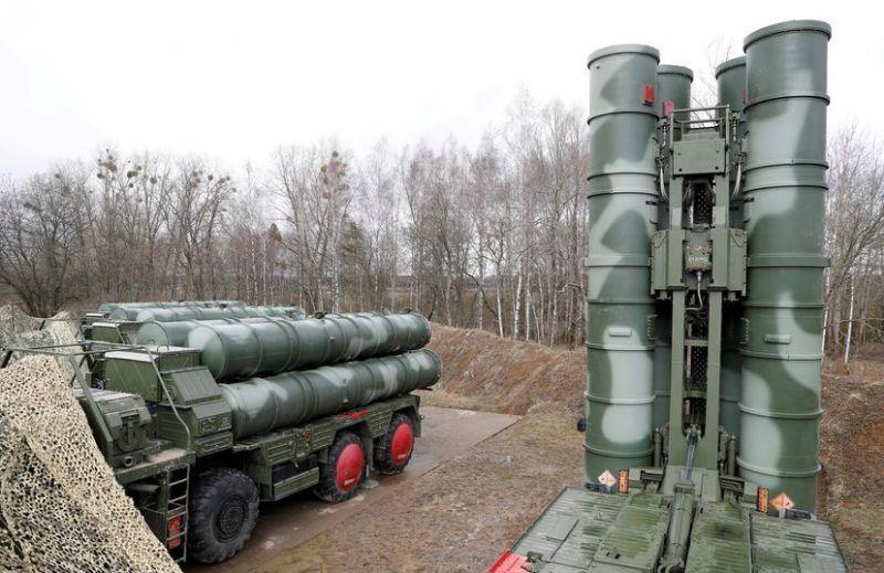 Misiles tierra-aire en Gvardeysk, cerca de Kaliningrado, Russia, en 2019.Vitaly Nevar / Reuters