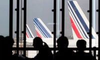 Air France planes at Paris-Orly airport. Photograph: Kenzo Tribouillard/AFP/Getty Images