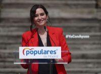 Isabel Díaz Ayuso durante la presentación de la candidatura del PP de Madrid para las elecciones a la Asamblea de Madrid.Eduardo Parra / Europa Press