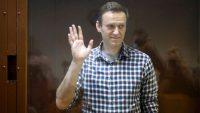 El opositor Alexéi Navalni en el Tribunal Municipal de Moscú, el 20 de febrero.Alexander Zemlianichenko / AP