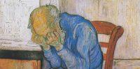 Anciano apenado (En la puerta de la eternidad), (Vincent Van Gogh, 1890). Wikimedia Commons / Kröller-Müller Museum
