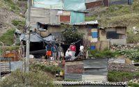 Un suburbio pobre de Bogotá, Colombia, en 2020.Mauricio Duenas Castañeda / EFE