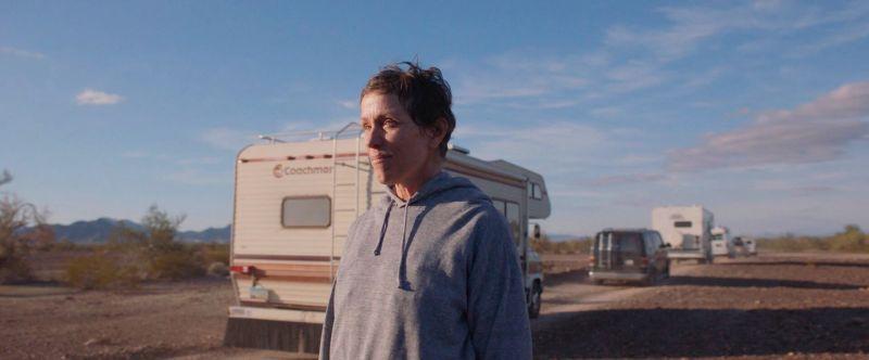 "La actriz Frances McDormand ""Nomadland"". Credit Searchlight Pictures vía Associated Press"