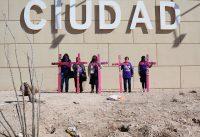 Madres de mujeres asesinadas protestan contra la violencia de género en Ciudad Juárez, al norte de México, en marzo de este año. Credit Mahe Elipe/Reuters