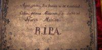 Lápida de Cristóbal Colón en la Catedral de Sevilla.