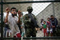 Dans un camp de réfugiés vénézuéliens, à Arauquita (Colombie), le 28 mars. (Luisa Gonzalez/Reuters)