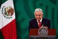 El presidente de México, Andrés Manuel López Obrador, ha hablado del desarrollo de una vacuna mexicana llamada Patria. Credit Pedro Pardo/Agence France-Presse — Getty Images