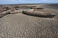 Photo d'illustration : le lac Chilwa asséché, dans l'est du Malawi. Photo d'archives AFP