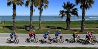 The 56th Tirreno-Adriatico 2021 cycle race by the Adriatic Sea in Lido di Fermo, Italy. Photo by Tim de Waele/Getty Images.