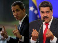 De izquierda a derecha, Juan Guaidó, líder opositor venezolano y el presidente Nicolás Maduro. Credit Miguel Gutierrez/EPA vía Shutterstock; Manaure Quintero/Reuters