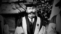 Ramón Menéndez Pidal, durante un viaje a Oxford. ARCHIVO FUNDACIÓN MENÉNDEZ PIDAL