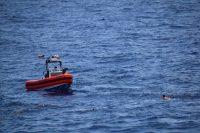 Guardacostas rescatan a ocho personas en Florida, el 27 de mayo de 2021. (AFP/Getty Images) (-/AFP/Getty Images)