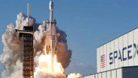 El despegue del Falcon Heavy de SpaceX