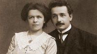 Mileva Marić y su esposo Albert Einstein