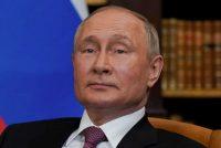 Russian President Vladimir Putin looks at the news media as he meets with President Biden on June 16 in Geneva. (Patrick Semansky/AP)