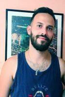 Fotografía cedida por Yuri Troya de su hermano y realizador cubano, Anyelo Troya, el 21 de julio de 2021.Cedida por Yuri Troya / EFE