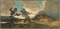 Duelo a garrotazos, de Francisco de Goya.