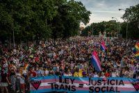 Manifestación del Orgullo LGTBI en Madrid.Olmo Calvo
