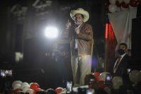 Pedro Castillo fue declarado ganador de las elecciones presidenciales del Perú más de un mes después del balotaje. Credit Stringer/EPA vía Shutterstock
