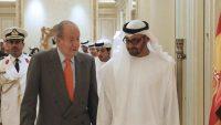 El rey emérito Juan Carlos I junto al príncipe heredero de Abu Dabi, Mohamed bin Zayed