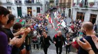 Acto de homenaje a Andoni Gabiola, miembro del Comando Madrid, en Lekeitio