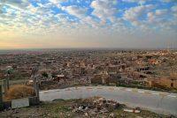 Deserted ruins in the northern Iraqi town of Sinjar. (Samya Kullab/AP)