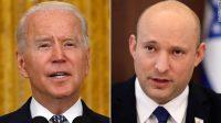 US President Joe Biden and Israeli Prime Minister Naftali Bennett