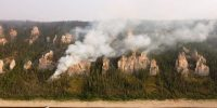 Russian authorities imposed a state of emergency in northeast Siberia in August 2021 as wildfires engulfed the Yakutia region following record-breaking temperatures. Photo: Getty Images.