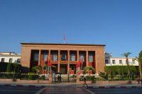 Edificio del Parlamento de Marruecos en Rabat.